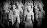 THE TERRA-COTTA WARRIORS OF THE QIN DYNASTY -CHINA